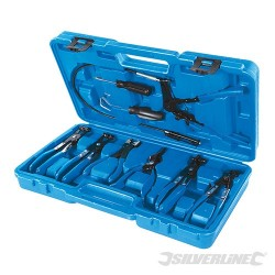 Hose Clip Removal Tool Set 9pce - 18 - 54mm