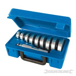 Bearing Race & Seal Driver Kit 10pce - 40-81mm