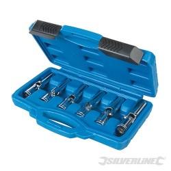 """Glow Plug & Spark Plug Socket Set 6pce - 3/8"""" / 8 - 16mm"""