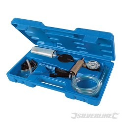 Vacuum Tester & Brake Bleeding Kit 16pce - 16pce