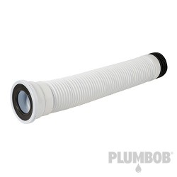 110mm Straight Flexible Pan Connector - 240 - 450mm