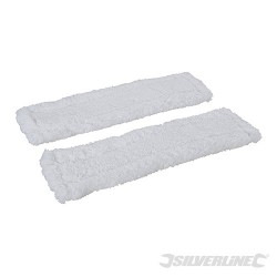 Window & Glass Cleaner Microfibre Cloth 2pk - 250mm Microfibre Cloths 2pk