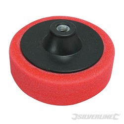 M14 Foam Polishing Head - 150mm Ultra-Soft Red
