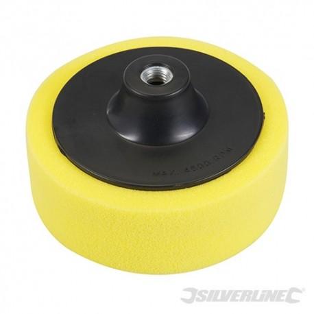 M14 Foam Polishing Head - 150mm Coarse Yellow