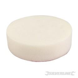 Leštící houba se suchým zipem - 150mm Firm White