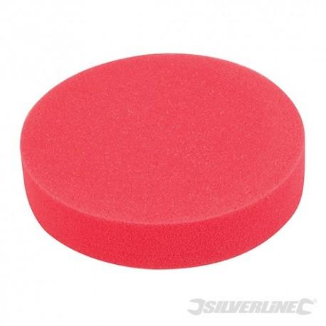 Hook & Loop Polishing Foam Head Medium - 180mm Ultra-Soft Red