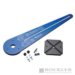 Ellipse / Circle Router Jig - 50991