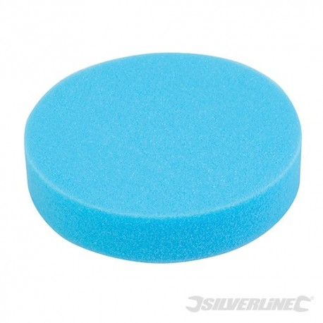Hook & Loop Polishing Foam Head Medium - 180mm Medium Blue