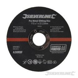 Pro Metal Slitting Disc 10pk - 115 x 1 x 22.23mm