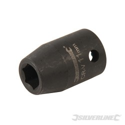 "Impact Socket 1/2"" Drive 6pt Metric - 11mm"