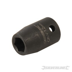 "Impact Socket 1/2"" Drive 6pt Metric - 12mm"