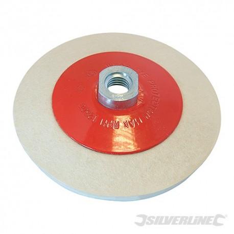 Bevelled Felt Buffing Wheel - 115mm