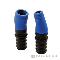Dust Right® Auxiliary Hose Port Set 2pce - 2pce