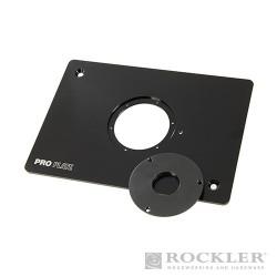 """Aluminium Pro Router Plate for Non-Triton Routers - 8-1/4 x 11-3/4"""""""
