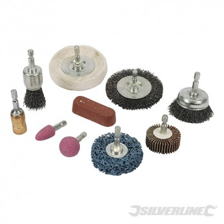 Cleaning & Polishing Kit 10pce - 6mm