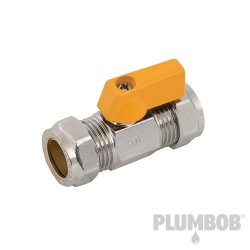 Straight Mini Ball Valve - 15mm