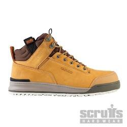 Pánská pracovní obuv s ocelovou špičkou Switchback Nubuck Boot - Size 9 / 43