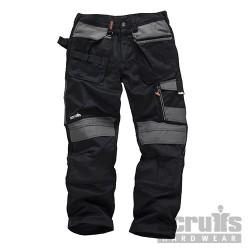 Pracovní kalhoty 3D Trade Trouser Black - 32R