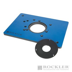 """Phenolic Router Plate for Triton Routers - 8-1/4 x 11-3/4"""""""