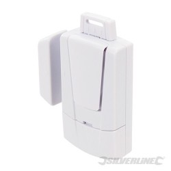 Magnetic Door & Window Alarm - 3 x 1.5V LR44