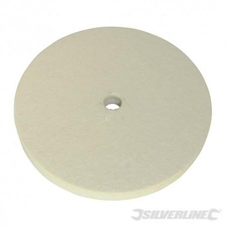 Filcowy krazek polerski - 150 mm