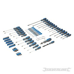 Screwdriver Set 100pce - 100pce