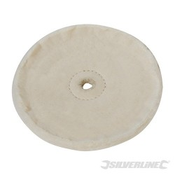 Loose-Leaf Cotton Buffing Wheel - 150mm