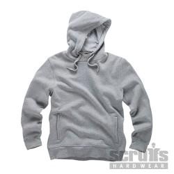 Worker Hoodie Grey Marl - L