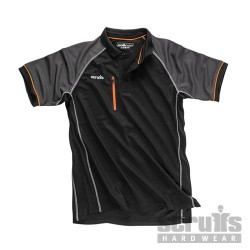 Trade Active Polo Black - L