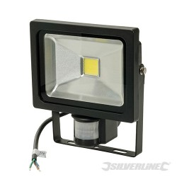 COB LED Floodlight - 20W PIR