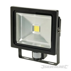 COB LED Floodlight - 30W PIR