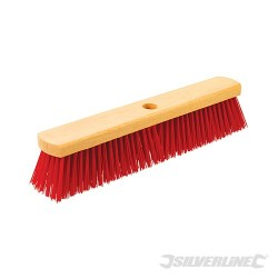 "Heavy-Duty PVC Broom - 460mm (18"")"