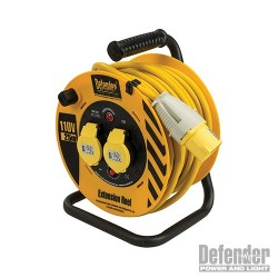 Cable Reel 25m 2 Way - 110V 16A