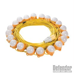 LED Festoon Lights 50m - 110V