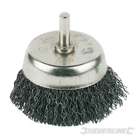 Rotary Steel Wire Cup Brush - 50mm