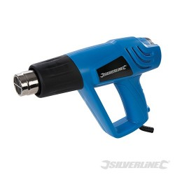 SILVERLINE 2000W HOT AIR GUN - EU - 550°C EU