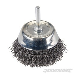 Rotary Steel Wire Cup Brush - 75mm