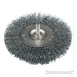 Rotary Steel Wire Wheel Brush - 100mm