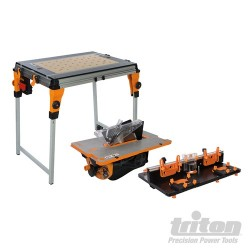 TWX7 Workcentre, Router Table & Contractor Saw Mod - TWX7CS1RT1EU