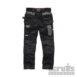 Pro Flex Holster Trousers Black - 34R