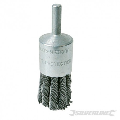 Steel End Twist Brush - 22mm
