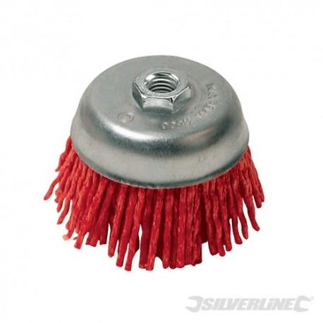 Filament Abrasive Cup Brush - 100mm Coarse
