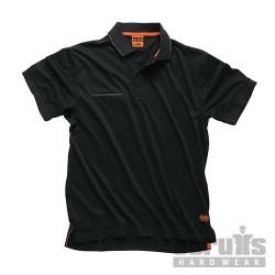 Worker Polo Black - XL
