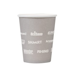Multi branded paper cups - 50pcs