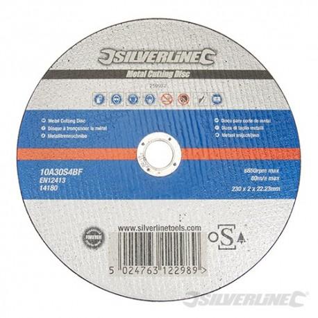 Silverline Řezný kotouč na kov OSA Accredited - 230 x 2 x 22.23mm 259972 5024763122989