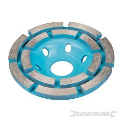 Diamond Grinding Wheel - 100 x 22.23mm Double Row